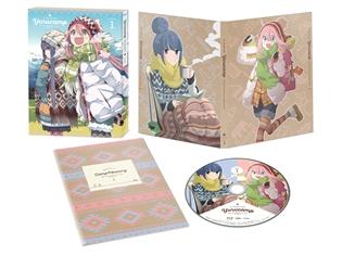 TVアニメ『ゆるキャン△』Blu-ray&DVD第1巻が本日発売! 作中の名シーンが楽しめるLINEスタンプも好評発売中