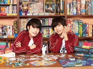 ボードゲーム大好き声優の岡本信彦さんと堀江瞬さんがボードゲーム同好会を発足! 新番組『ボドゲであそぼ』が2018年7月から放送スタート