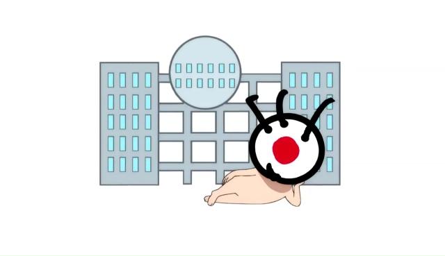 『ゲゲゲの鬼太郎』第44話「なりすましのっぺらぼう」より先行カット到着! SNSで知り合った友人・ゴーゴー万次郎、その正体は……!?-3