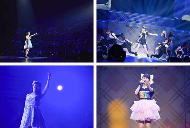 東山奈央、日本武道館1stライブ|歌とダンスでファンを魅了