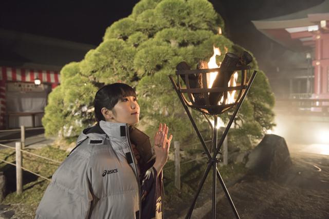 『かくりよの宿飯』第24話「玉の枝サバイバル。」の先行場面カット公開! 葵は銀次、乱丸、チビとともに水墨画の世界に向かう-5