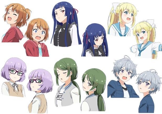 『ソラとウミのアイダ』2018年10月よりTVアニメ放送開始