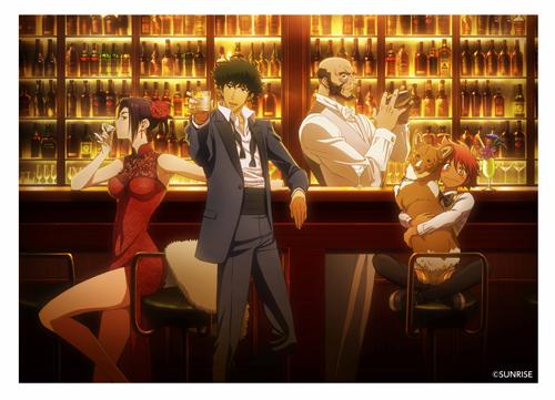不朽の名作『カウボーイビバップ』とアニメイトカフェのコラボが決定!