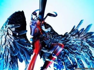 『ペルソナ5』主人公のペルソナ・アルセーヌのフィギュアが発売! 特徴的な顔や羽1枚1枚まで緻密かつダイナミックに再現