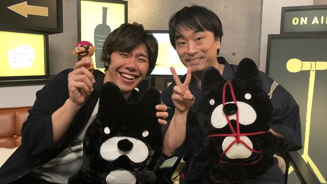 関智一&佐藤拓也による『声優と夜遊び』初回の公式レポ到着!