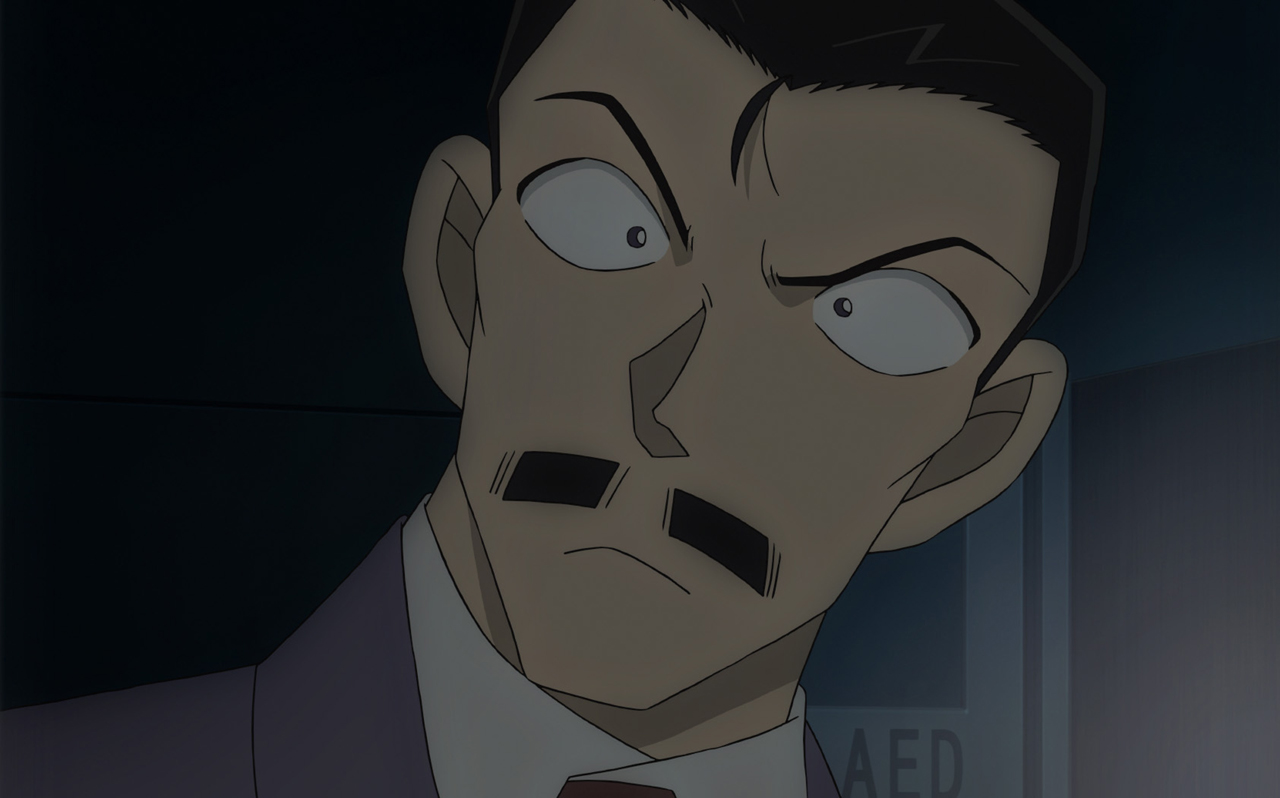▲毛利小五郎(CV:小山力也) 蘭の父親・毛利小五郎。元警察官で現在は私立探偵。世間では「眠りの小五郎」として名を馳せる。