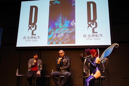 小林裕介さんがメガキンの姿で登場!? 最新情報盛りだくさんだった『D×2 真・女神転生』スペシャルステージをレポ【TGS2018】-23