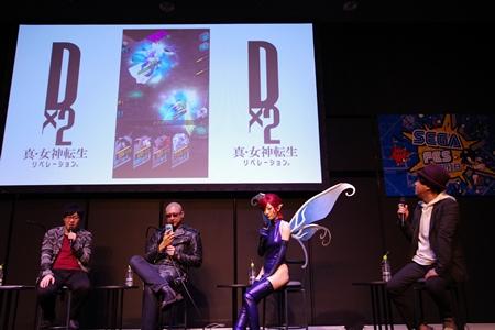 小林裕介さんがメガキンの姿で登場!? 最新情報盛りだくさんだった『D×2 真・女神転生』スペシャルステージをレポ【TGS2018】-25