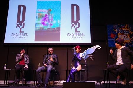 小林裕介さんがメガキンの姿で登場!? 最新情報盛りだくさんだった『D×2 真・女神転生』スペシャルステージをレポ【TGS2018】-26