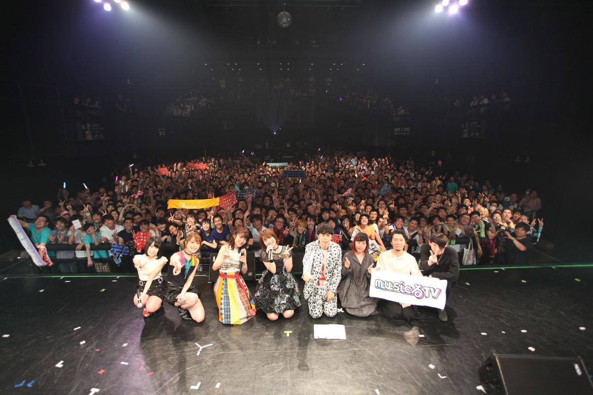 内田真礼、小松未可子 出演「musicるFES」公式レポが到着