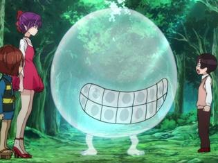 TVアニメ『ゲゲゲの鬼太郎』第4話先行カット&あらすじ公開! 妖怪のことに詳しく、ゲゲゲの森の中で出会う様々な妖怪たちに大喜びの裕太だったが……。