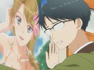 『多田くんは恋をしない』第4話「見なかったことにしよう……」の先行カット解禁! ピン先輩、愛するグラビアアイドルのお渡し会に……