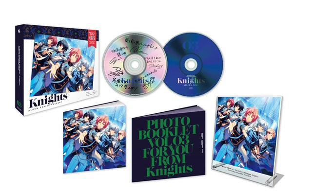 『あんさんぶるスターズ!』アルバムシリーズ第3弾 「Knights」より、試聴動画を大公開!-3