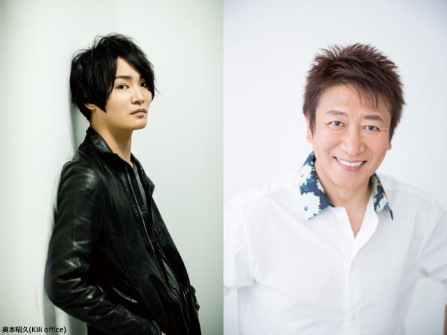 ▲(左)細谷佳正さん、(右)井上和彦さん