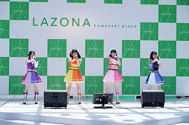 松永あかねさん、⽊⼾⾐吹さんら『アイカツ』声優・6人が登壇した『アイカツフレンズ!』初の関東ステージイベントが⼤盛況!