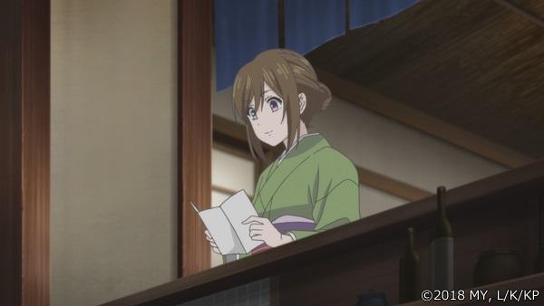 『かくりよの宿飯』第8話「九尾の若旦那とお買い物。」より先行場面カット到着! 葵は、現世や異界の珍味を取り揃えた市へ
