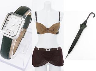 『進撃の巨人』調査兵団モデルの腕時計&ランジェリーセットが登場! エレン&リヴァイをイメージした傘も発売!