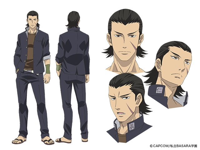 『学園BASARA』森川智之さん・子安武人さんらお馴染みの声優5名が出演決定! キャラクタービジュアルも公開の画像-4