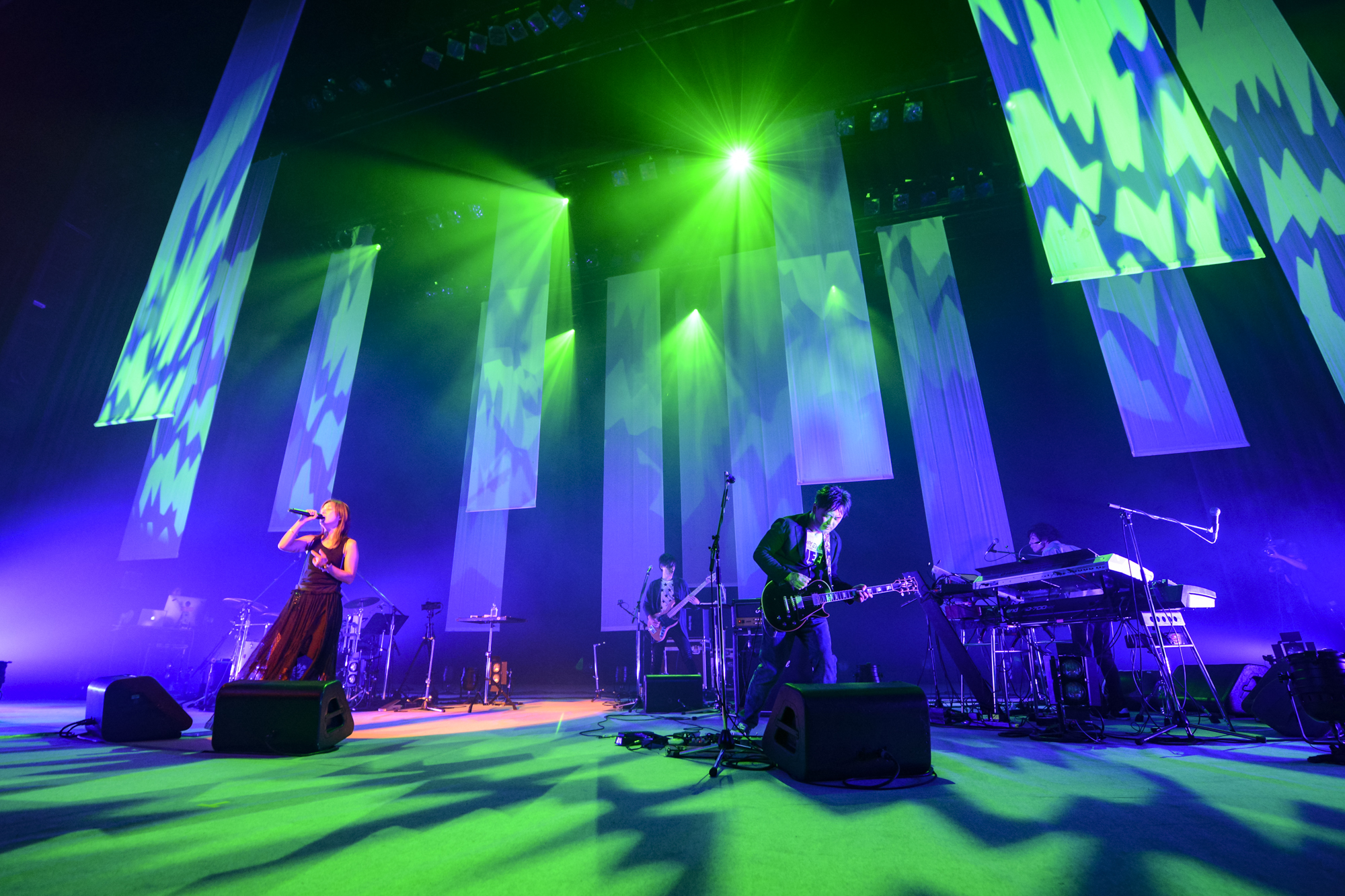 Do As Infinityツアー東京公演の公式レポが到着