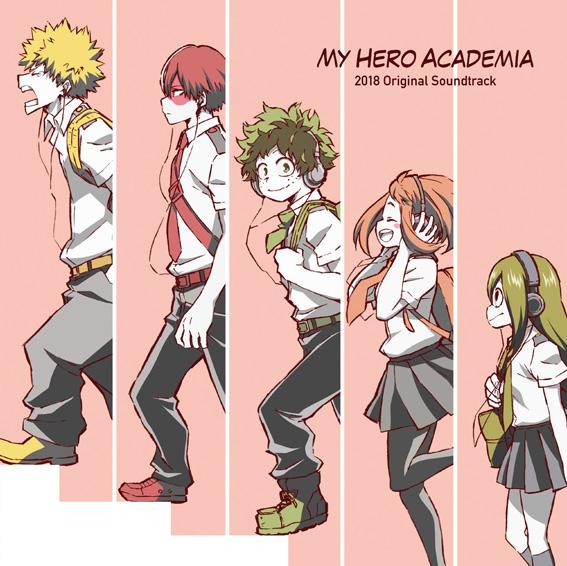『僕のヒーローアカデミア』新たなOSTが7月18日発売決定! TVアニメ第3期や劇場版の劇中音楽を収録の画像-1