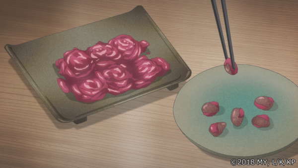 『かくりよの宿飯』第9話「妖老夫婦の結婚記念日。」より先行場面カットが到着! 銀次とはぐれたうえに、閉じ込められてしまった葵は……