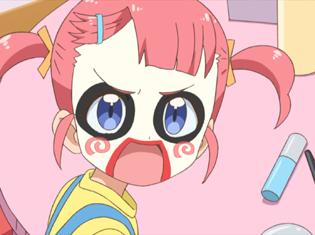 TVアニメ『キラッとプリ☆チャン』第8話先行場面カット・あらすじ到着!みらいとえもがメイクに悪戦苦闘!?