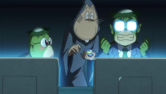 『ゲゲゲの鬼太郎』第44話「なりすましのっぺらぼう」より先行カット到着! SNSで知り合った友人・ゴーゴー万次郎、その正体は……!?-4