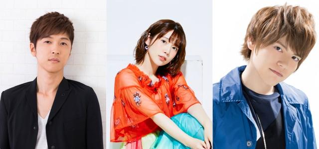▲左より櫻井孝宏さん、内田真礼さん、内田雄馬さん