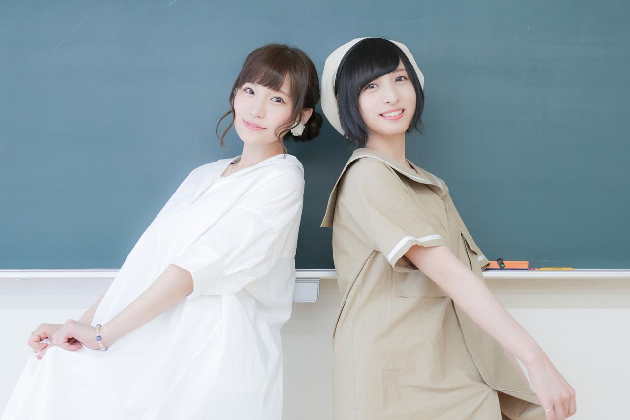 『あさがおと加瀬さん。』高橋未奈美&佐倉綾音の写真が公開中