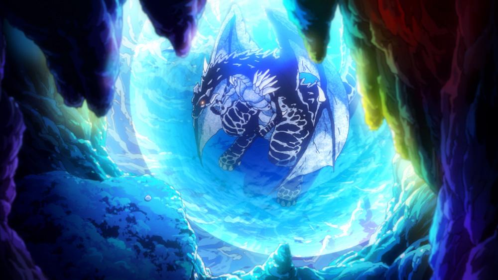 秋アニメ『転生したらスライムだった件』より、第8話の場面カット&あらすじが到着! 最期の時を迎えようとしていたシズは、リムルにとある願いを伝える-4