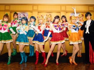 乃木坂46メンバーがセーラー戦士にメイクアップ! 乃木坂46版ミュージカル「美少女戦士セーラームーン」 本日開幕!
