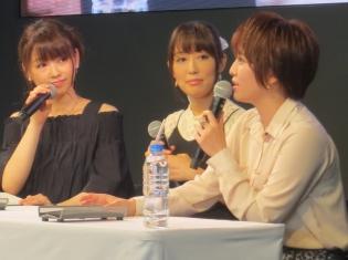日笠陽子さん、下田麻美さん、花守ゆみりさんが登壇したオーバーラップ大感謝祭2018『IS』スペシャルステージをレポート