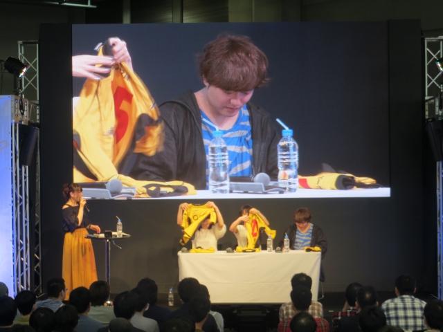 """""""カラス""""たちにエールを贈れ! AnimeJapan 2016 TOHO animationブースで『ハイキュー!!』の応援旗をつくる特別企画が実施!-16"""