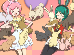 TVアニメ『キラッとプリ☆チャン』第10話先行場面カット・あらすじ到着!PSショップの企画でミラクル☆キラッツの三人は……