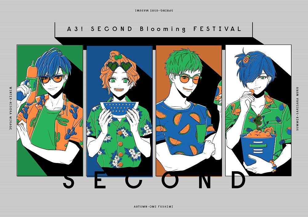 「A3! SECOND Blooming FESTIVAL」特設サイトオープン&ライビュ実施