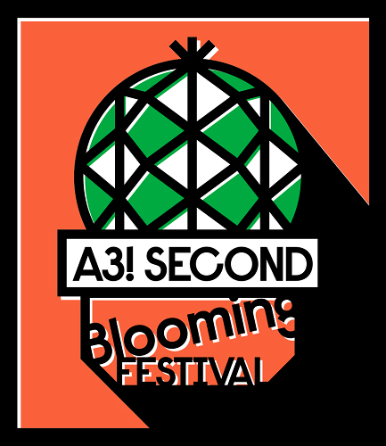 ▲「A3! SECOND Blooming FESTIVAL」ロゴ