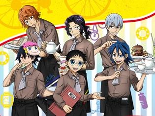 テレビアニメ『弱虫ペダル GLORY LINE』コラボカフェが7月13日より期間限定でオープン! 予約は6月27日(水)12時から受付開始!