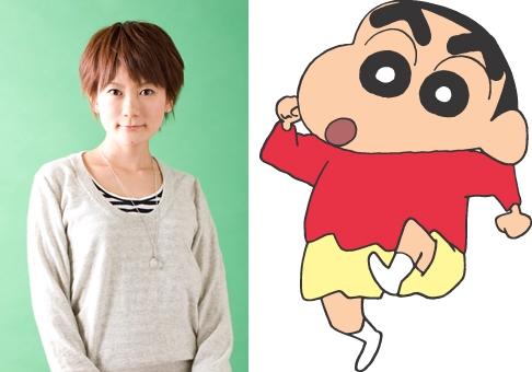 『クレヨンしんちゃん』新声優に小林由美子、矢島晶子は6月で降板