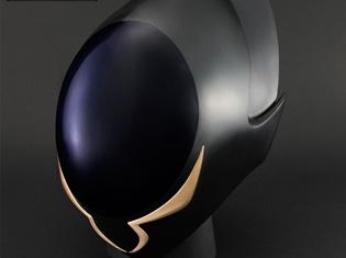 """『コードギアス 反逆のルルーシュ』より実物大の""""ゼロの仮面""""が発売決定! 光沢ある黒いボディと流線形のフォルムも再現!"""