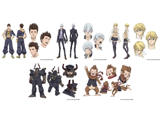『学園BASARA』増田俊樹さん、関智一さん、桑谷夏子さんが出演決定! キャラクター情報&ビジュアルも公開!