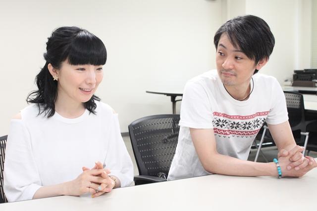 『最終兵器彼女 コンプリートBlu-ray』発売記念対談!石母田史朗さんと折笠富美子さんが十数年ぶりに再会-10