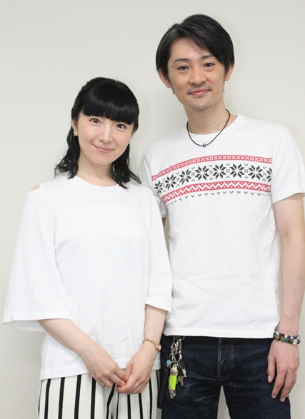 ▲今回の取材で「久しぶり〜!」「私も大人になりましたよ」と、久々の再会を喜びあった折笠さんと石母田さん