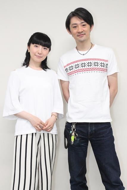 『最終兵器彼女 コンプリートBlu-ray』発売記念対談!石母田史朗さんと折笠富美子さんが十数年ぶりに再会-16