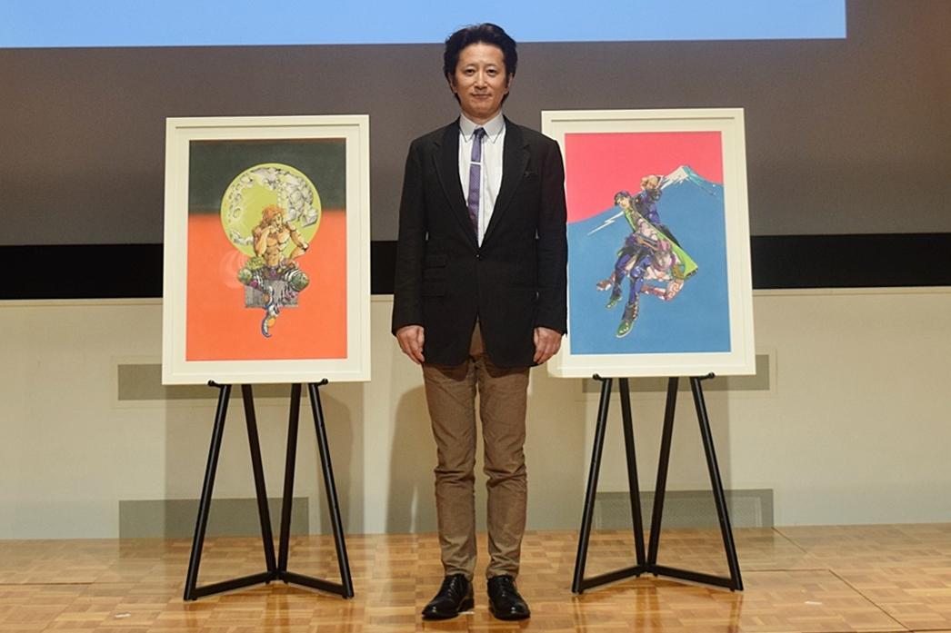 「荒木飛呂彦原画展 JOJO 冒険の波紋」記者会見をレポート