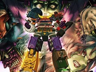 『ニンジャバットマン』アメリカでも「クレイジー!」と大好評なシーンが初解禁! 戦国時代にロボットが合体だよォ、全員集合!!