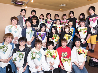 『弱虫ペダル GLORY LINE』第25話「それぞれのスタートライン」より、先行カット&最終回アフレコのキャスト写真到着!
