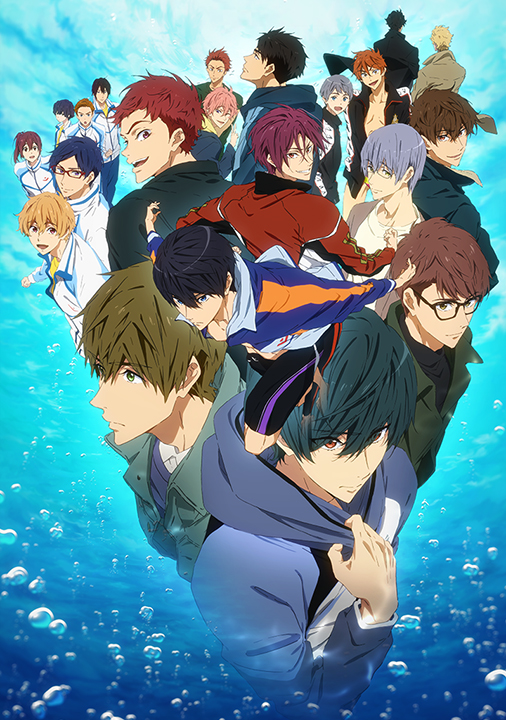 『Free!-Dive to the Future-』のPVが公開