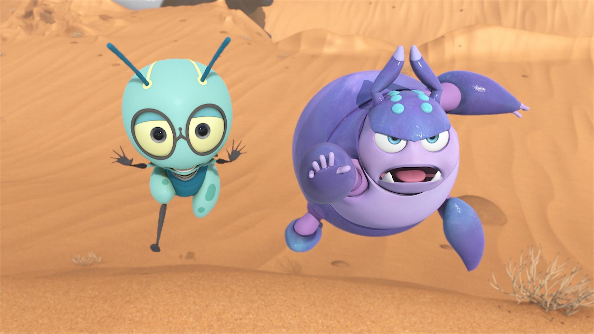 オリジナルアニメ『スペースバグ』7月8日放送スタート! 宇宙船に取り残された昆虫たちが、壮大な冒険を繰り広げる!!-4