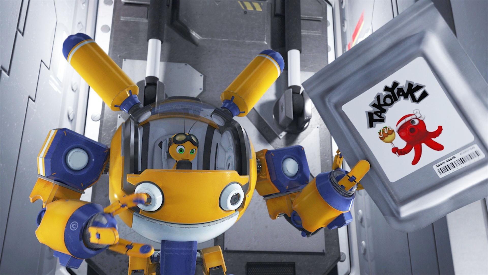 オリジナルアニメ『スペースバグ』7月8日放送スタート! 宇宙船に取り残された昆虫たちが、壮大な冒険を繰り広げる!!-14