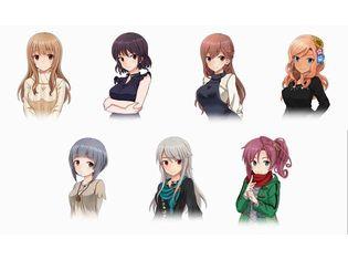 アプリ『アリス・ギア・アイギス』キャラクター紹介を全3回でお届け! 第3回は「小結」「芹菜」「杏奈」「盟華」「明日翔」「真理」「来弥」の7キャラ